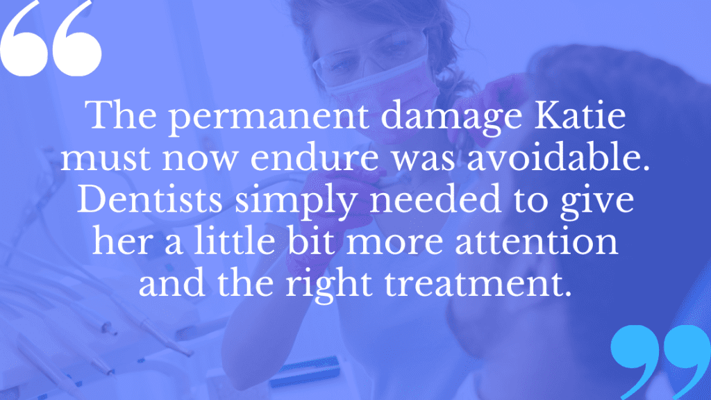 Dental negligence claims are often the result of complete ignorance of a patient's needs.