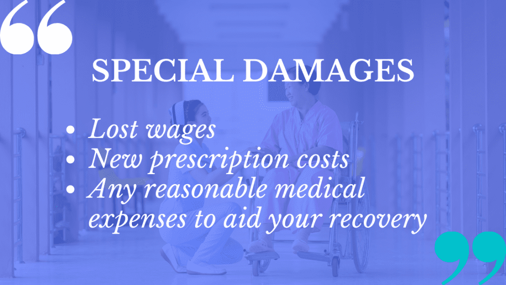 Cosmetic surgery negligence claims come with certain special damages you can cite.