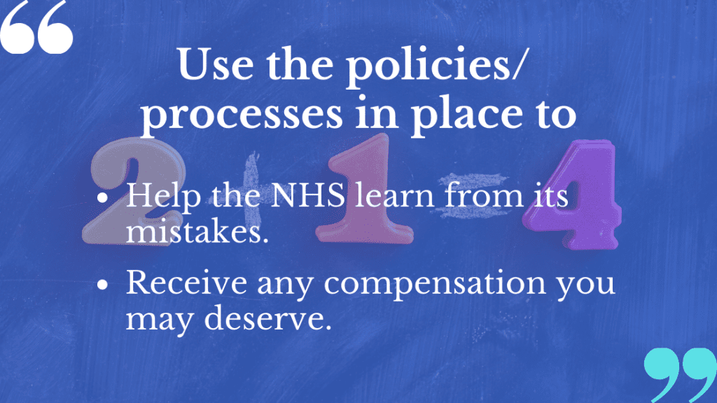 Clinical negligence complaints can be made with a mind of compensation and a better service.
