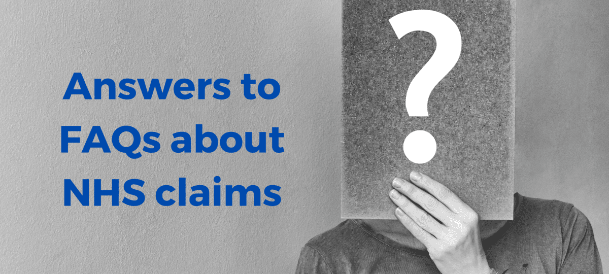 Get answers to leading FAQs about How to Sue the NHS
